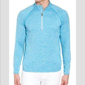 NEW- Peter Millar Blue Sydney Pullover